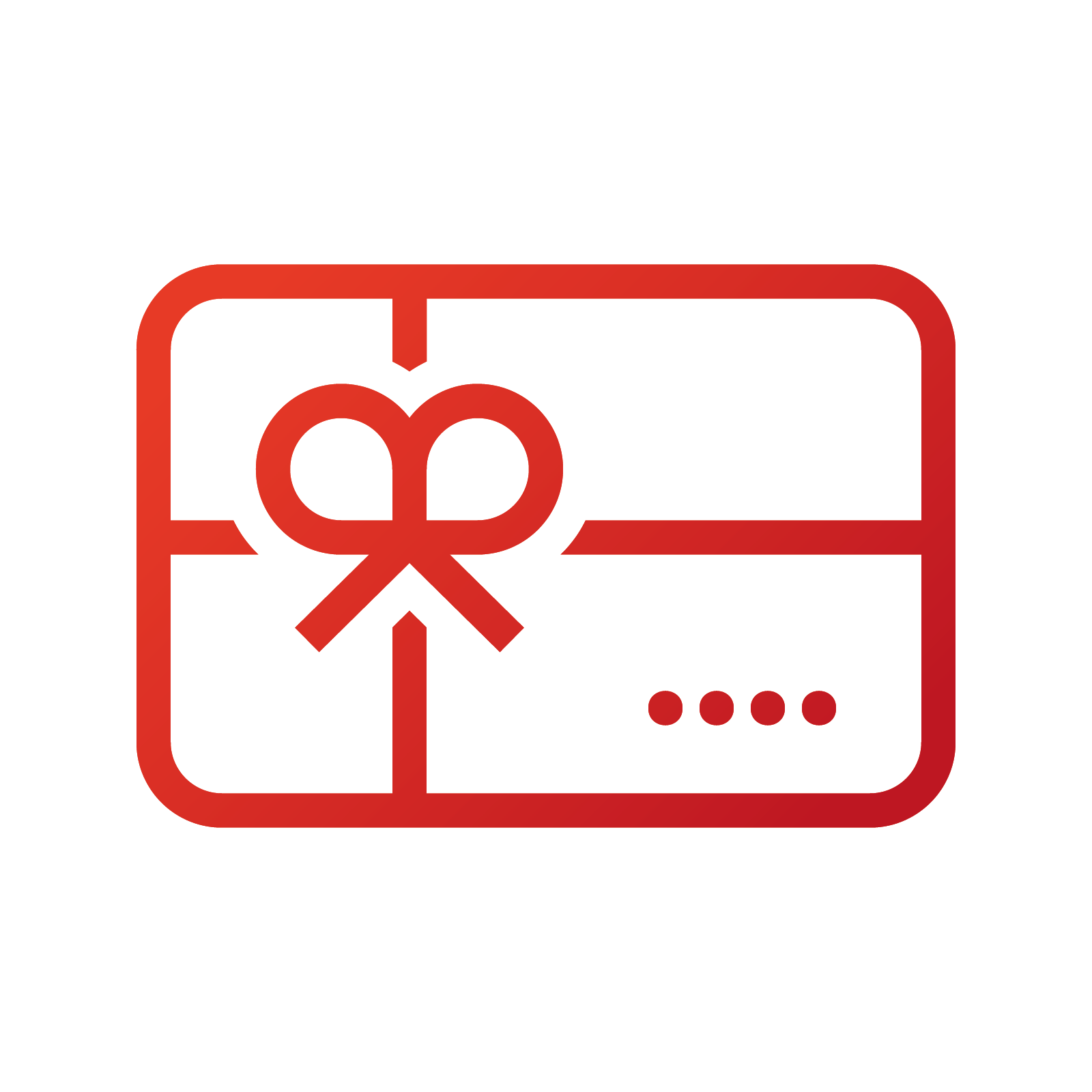 Icon to demonstrate the proofing of gift card artwork